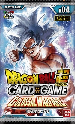 Dragon Ball Super Card Game Colossal Warfare (Series 4) Booster Box