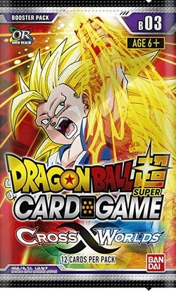 Dragon Ball Super Card Game Cross Worlds Booster Case [12 boxes]