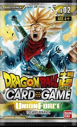 Dragon Ball Super Trading Card Game Union Force (Series 2) Booster Box
