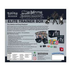 Pokemon TCG: Sun & Moon Burning Shadows Elite Trainer Box