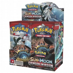 Pokemon TCG: Sun & Moon Crimson Invasion Booster Box Case [6 boxes]