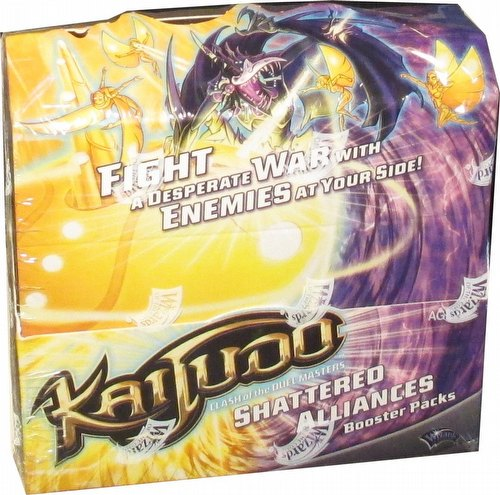 Kaijudo TCG: Shatted Alliances Booster Box