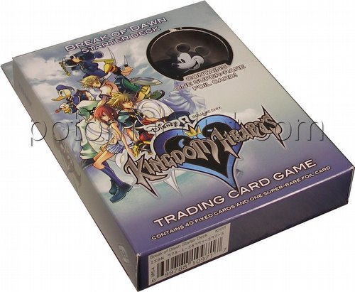 Kingdom Hearts: Break of Dawn Starter Deck
