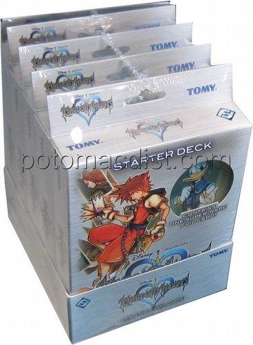 Kingdom Hearts: Base Set Starter Deck Box