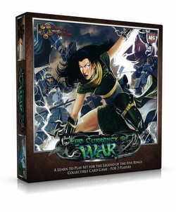 Legend of the Five Rings [L5R] CCG: The Currency of War Learn to Play Set Case [5 boxes]
