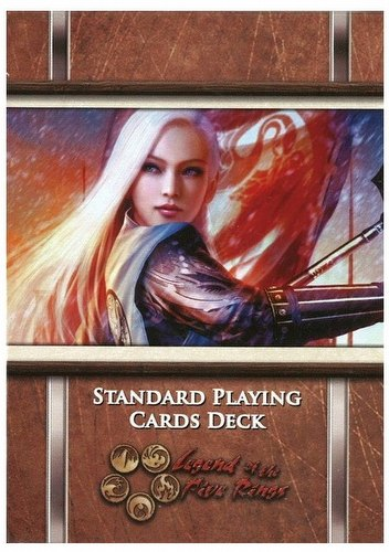 Legend of the Five Rings [L5R]: Standard Playing Cards/Poker Deck