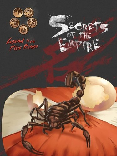Legend of the Five Rings RPG: 4th Edition Secrets of the Empire Book