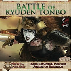 Legend of the Five Rings [L5R] CCG: Battle of Kyuden Tonbo Boxed Set Case [5 Sets]