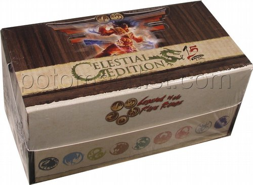 Legend of the Five Rings [L5R] CCG: Celestial Edition 15th Anniversary Starter Deck Box