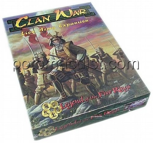 Legend of the Five Rings [L5R] CCG: Clan War Lion Exp.