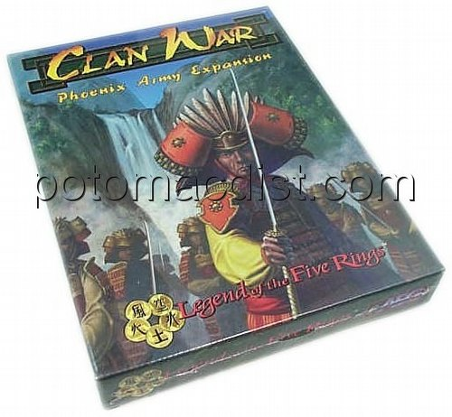 Legend of the Five Rings [L5R] CCG: Clan War Phoenix Exp.