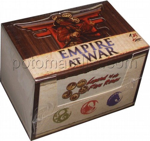Legend of the Five Rings [L5R] CCG: Empire at War Starter Deck Box