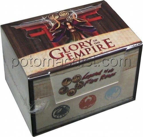Legend of the Five Rings [L5R] CCG: Glory of the Empire Starter Deck Box