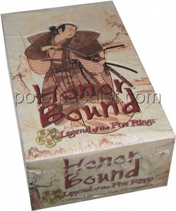 Legend of the Five Rings [L5R] CCG: Honor Bound Booster Box