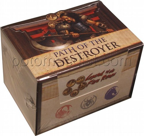 Legend of the Five Rings [L5R] CCG: Path of the Destroyer Starter Deck Box