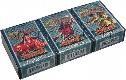 Legend of the Five Rings [L5R] CCG: Rise of the Shogun Starter Deck Set [Scorpion, Mantis, Phoenix]