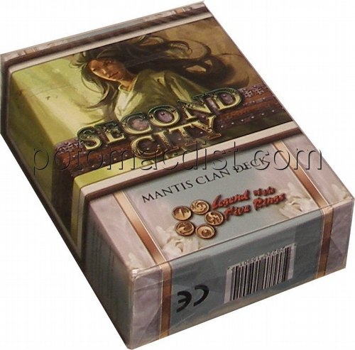 Legend of the Five Rings [L5R] CCG: Second City Starter Deck [Mantis]