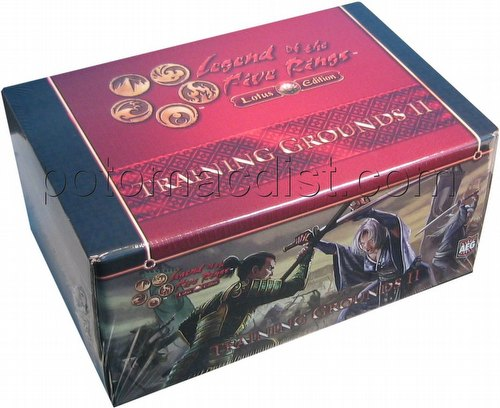Legend of the Five Rings [L5R] CCG: Training Grounds II - Crane Vs. Dragon Box Set