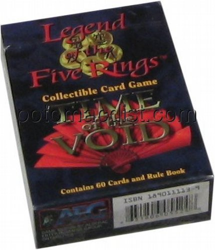 Legend of the Five Rings [L5R] CCG: Time of the Void Crab Clan Starter Deck