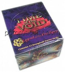 Legend of the Five Rings [L5R] CCG: Time of the Void Starter Deck Box