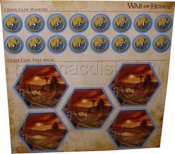 Legend of the Five Rings [L5R] CCG: War of Honor Crane Clan Tiles and Markers