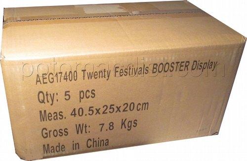 Legend of the Five Rings [L5R] CCG: Twenty Festivals Booster Case [5 boxes]