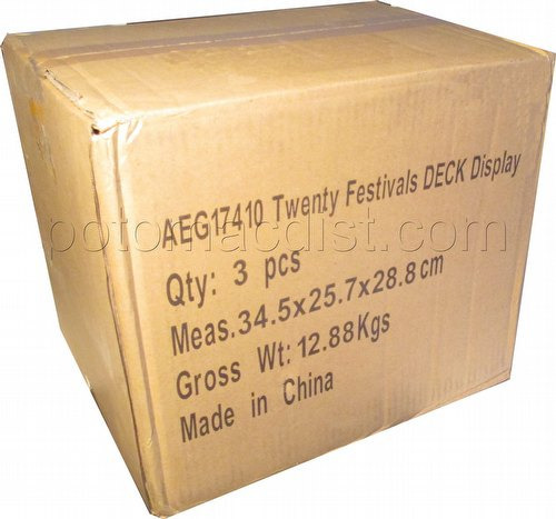 Legend of the Five Rings [L5R] CCG: Twenty Festivals Starter Deck Case [3 boxes]