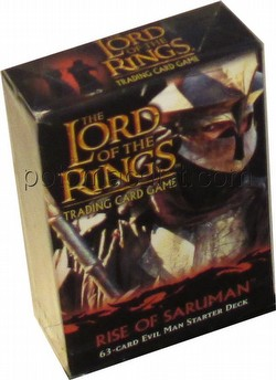 Lord of the Rings Trading Card Game: Rise of Saruman Evil Man Starter Deck