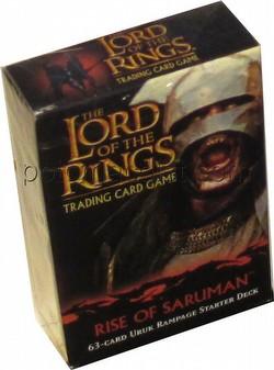 Lord of the Rings Trading Card Game: Rise of Saruman Uruk Rampage Starter Deck