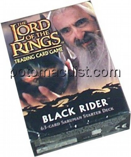Lord of the Rings Trading Card Game: Black Rider Saruman Starter Deck