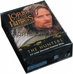 Lord of the Rings Trading Card Game: The Hunters Aragorn Starter Deck