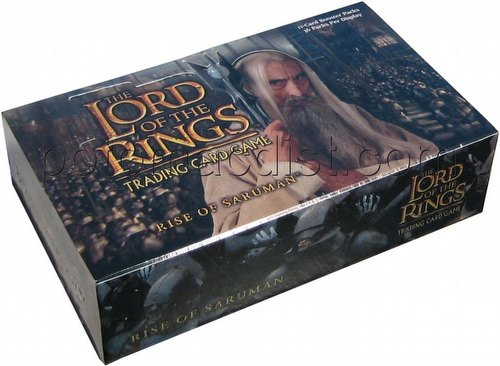 Lord of the Rings Trading Card Game: Rise of Saruman Booster Box