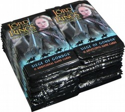 Lord of the Rings Trading Card Game: Siege of Gondor [36 loose booster packs]