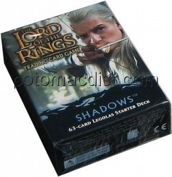 Lord of the Rings Trading Card Game: Shadows Legolas Starter Deck