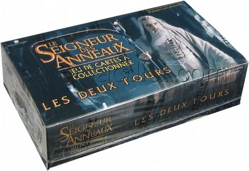 Lord of the Rings Trading Card Game: Two Towers Booster Box [French]