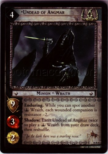 Lord of the Rings Trading Card Game: Wraith Collection Set [6 cards]
