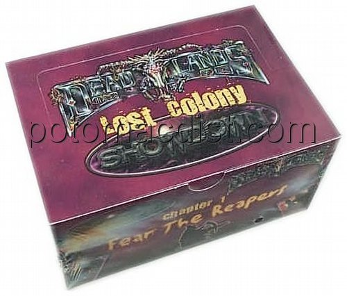 Lost Colony: Showdown Series 1 Starter Deck Box