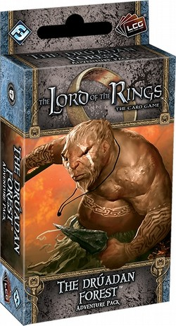 The Lord of the Rings LCG: Against the Shadow Cycle - The Druadan Forest Adventure Pack Box[6 packs]