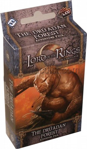 The Lord of the Rings LCG: Against the Shadow Cycle - The Druadan Forest Adventure Pack