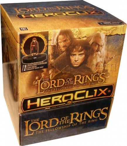 HeroClix: Lord of the Rings - Fellowship of the Rings Gravity Feed Box