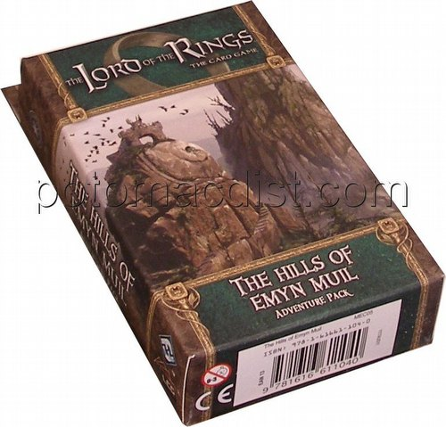 The Lord of the Rings LCG: Shadows of Mirkwood Cycle - The Hills of Emyn Muil Adventure Pack