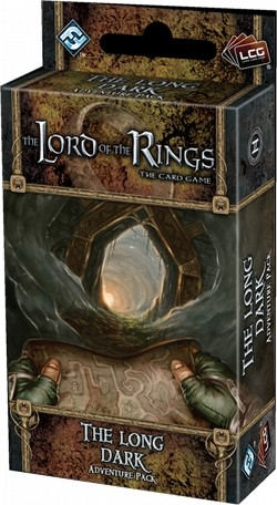 The Lord of the Rings LCG: Dwarrowdelf Cycle - The Long Dark Adventure Pack Box [6 Packs]