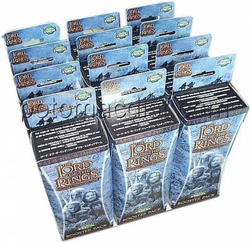 Lord of the Rings Miniatures Game [TMG]: Booster [12 Boosters]