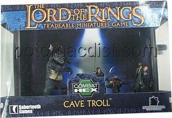 Lord of the Rings Miniatures Game [TMG]: Cave Troll & Heroes