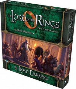 The Lord of the Rings Living Card Game [LCG]: The Road Darkens Expansion Box