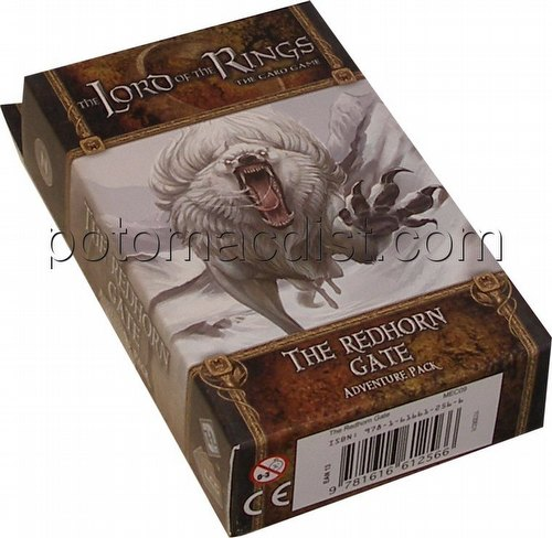 The Lord of the Rings LCG: Dwarrowdelf Cycle - Redhorn Gate Adventure Pack