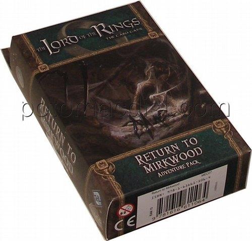 The Lord of the Rings LCG: Shadows of Mirkwood Cycle - Return to Mirkwood Adventure Pack