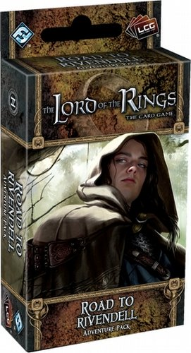 The Lord of the Rings LCG: Dwarrowdelf Cycle - Road to Rivendell Adventure Pack Box [6 packs]