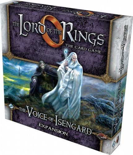 The Lord of the Rings Living Card Game [LCG]: The Voice of Isengard Expansion Box