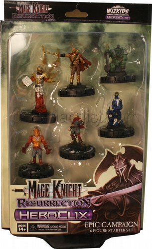 Mage Knight: Resurrection Campaign Starter Set Box